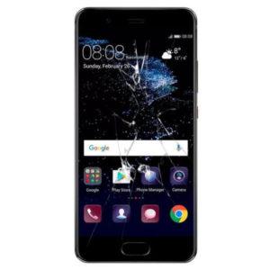 Huawei p10 skjerm bytte reparasjon