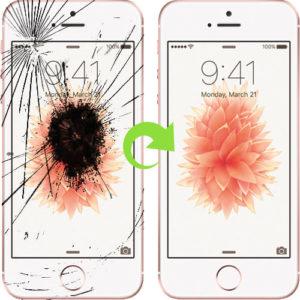 iphone 5 se skjerm bytte