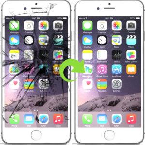 iphone 6 skjerm bytter reparasjon (1)