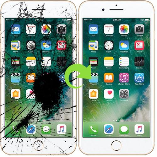 iphone 7 skjerm bytter reparasjon (1)