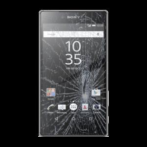 Sony Xperia Z5 Premium skjerm bytte