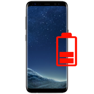 Samsung s8+ batteri bytte