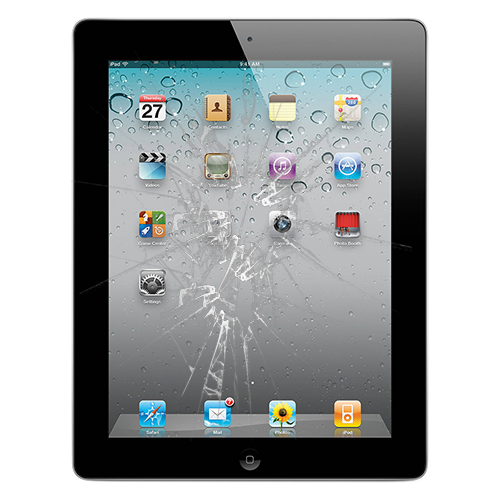 iPad 2 skjerm bytte