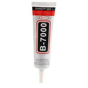 B-7000 gjennomsiktig vann basert lim 50 ML