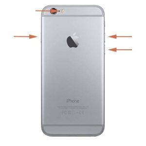 iPhone 6s lydløs mute knapp reparasjon