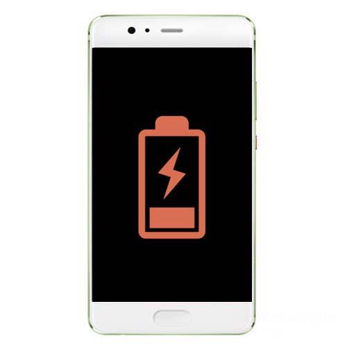 Huawei P10 batteri skifte reparasjon Drop in og innsending