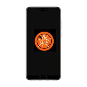 Knust Huawei P20 kameralinse