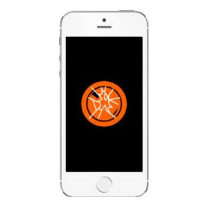 Knust iPhone 5 SE kameralinse bakglass