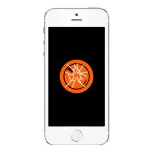 Knust iPhone 5s kameralinse bakglass