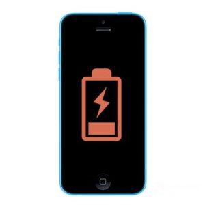 iphone 5c batteri bytte