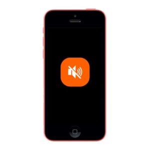 iPhone 5c lydløs mute knapp reparasjon