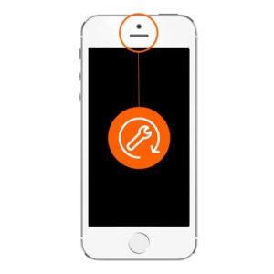 iphone 5s frontkamera reparasjon