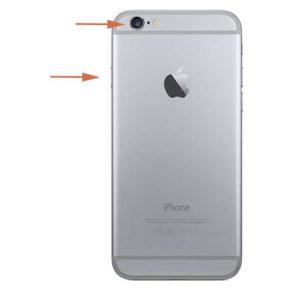 iPhone 6 låseknapp reparasjon