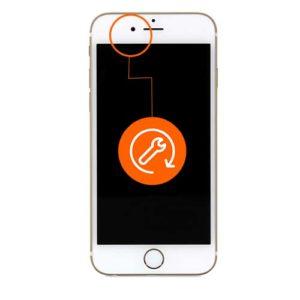 iPhone 8 plus frontkamera reparasjon