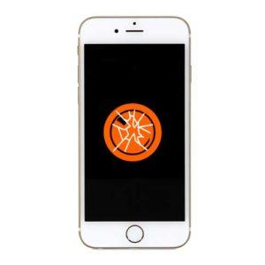 Knust iPhone 8 kameralinse