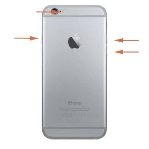iPhone 6s låseknapp reparasjon
