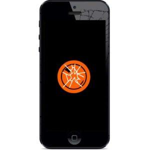 Knust iPhone 5 kameralinse bakglass
