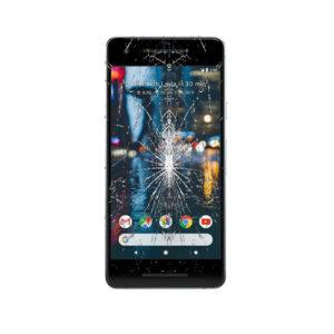 Google Pixel 2 skjerm bytte