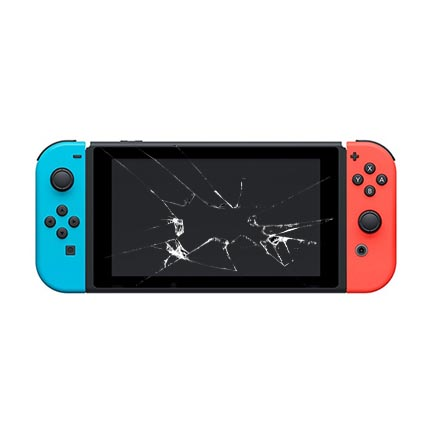 nintendo switch skjerm bytte