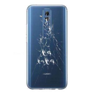 Knust Huawei Mate 20 Lite bakglass